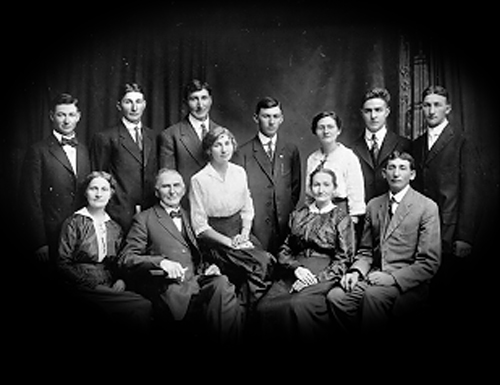 H.F. Schindler Family Photo